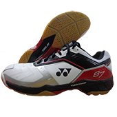 Yonex SHB 87 EX Badminton Shoes Red and Black