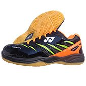 Yonex Excel FIM Badminton Shoes Black and Orange