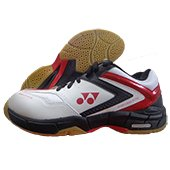 Yonex Badminton Shoes SHB 2 IEX Red and White