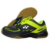 Yonex SHB 75 EX Badminton Shoes Black and Yellow