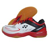 Yonex SHB 75 EX Badminton Shoes White and Red