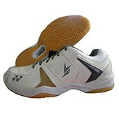 Yonex SHB 40 LD Badminton Shoes White and Yellow