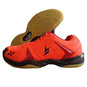 Yonex SHB 40 LD Badminton Shoes Orange and Black