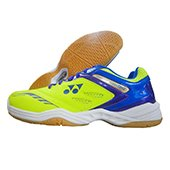 Yonex Power Cushion SHB 34EX Badminton Shoes (Yellow and Blue)