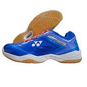 Yonex Power Cushion SHB 34EX Badminton Shoes (Blue and Purple)