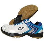 Yonex Power Cushion SHB 47EX Badminton Shoes White and Blue
