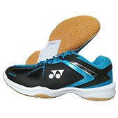 Yonex Power Cushion SHB 35EX Badminton Shoes Black and Blue