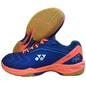 Yonex Tru Cushion SRCR 65R Badminton Shoes Bright Purple and Orange