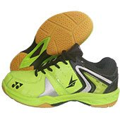 Yonex SRCR 40 LD Badminton Shoes Lime and Black