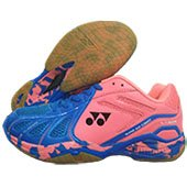 Yonex Super ACE Light Badminton Shoes Blue and Orange