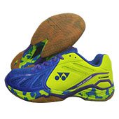 Yonex Super ACE Light Badminton Shoes Blue and Lime