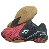Yonex Super ACE Light Badminton Shoes Red and Black