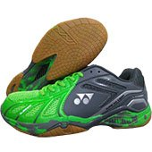Yonex Super ACE Light Badminton Shoes Bright Green and Dark Grey