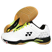 Yonex Power Cushion Eclipsion X Badminton Shoes White and Black