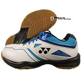 Yonex Power Cushion SHB 36 EX White Blue Badminton Shoes