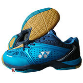 Yonex Aero Comfort Badminton Shoes Cerulean and Aegean Blue