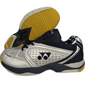 Yonex Aero Comfort Badminton Shoes Navy and Silver