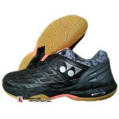Yonex Court ACE Matrix 2 Badminton Shoes Black and Gunmetal