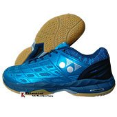 Yonex Court ACE Matrix 2 Badminton Shoes Cerulean and Aegean Blue