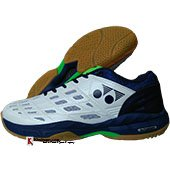 Yonex Court ACE Matrix 2 Badminton Shoes White and Blue