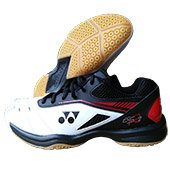 Yonex Power Cushion SHB 65 R2EX Badminton Shoes White and Red