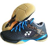 Yonex SHB 03 LCW EX Badminton Shoes Blue and Orange