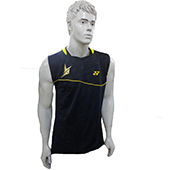 YONEX Badminton T Shirt 10000 LDEX LIN DAN yellow or black Small
