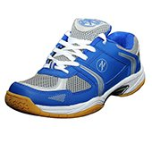 Zigaro Z19 Badminton Shoes Blue and Silver